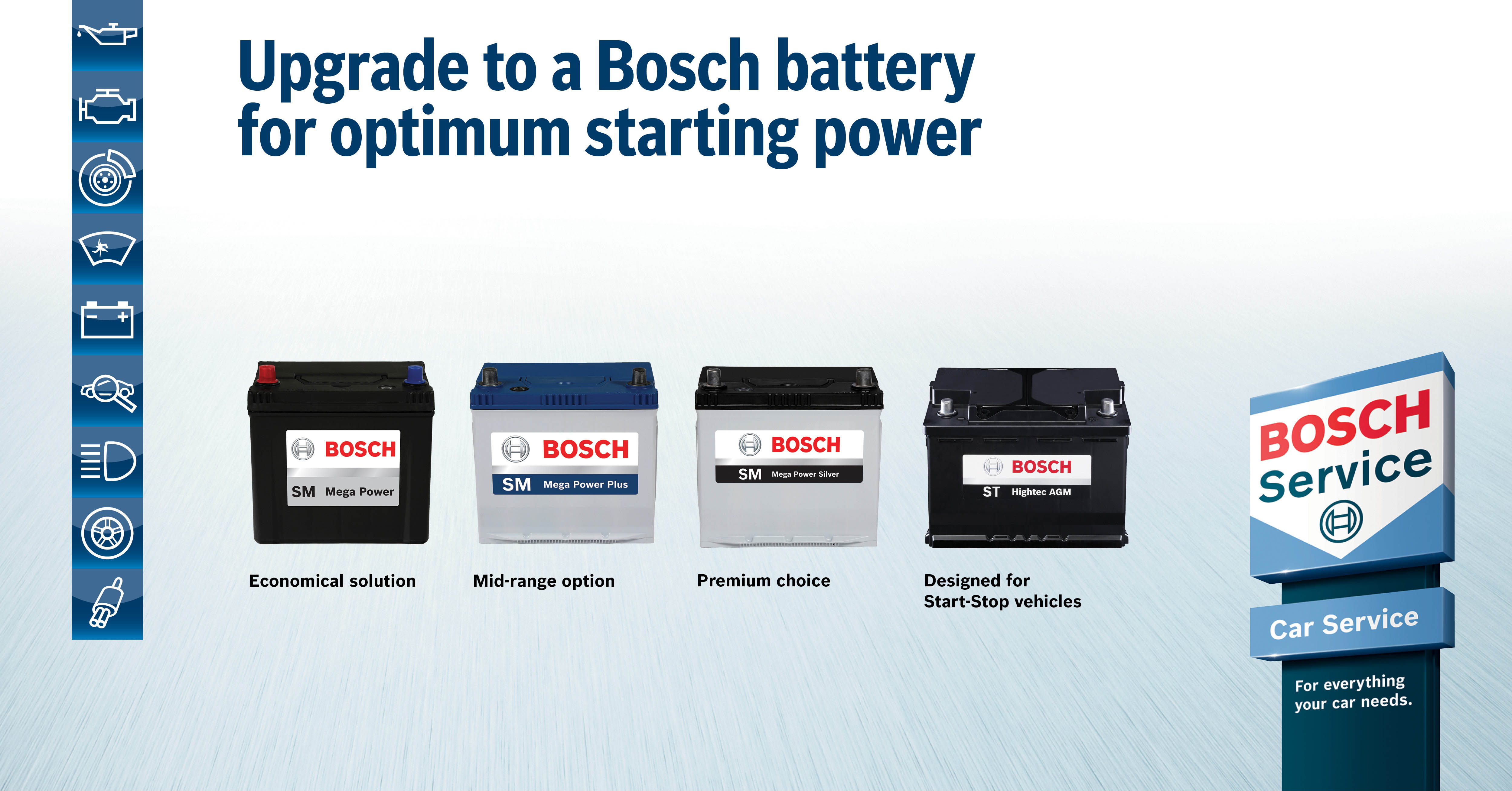 Bosch Batteries are best