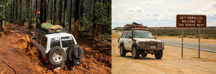 Pre and post off road 4wd service and/or inspections
